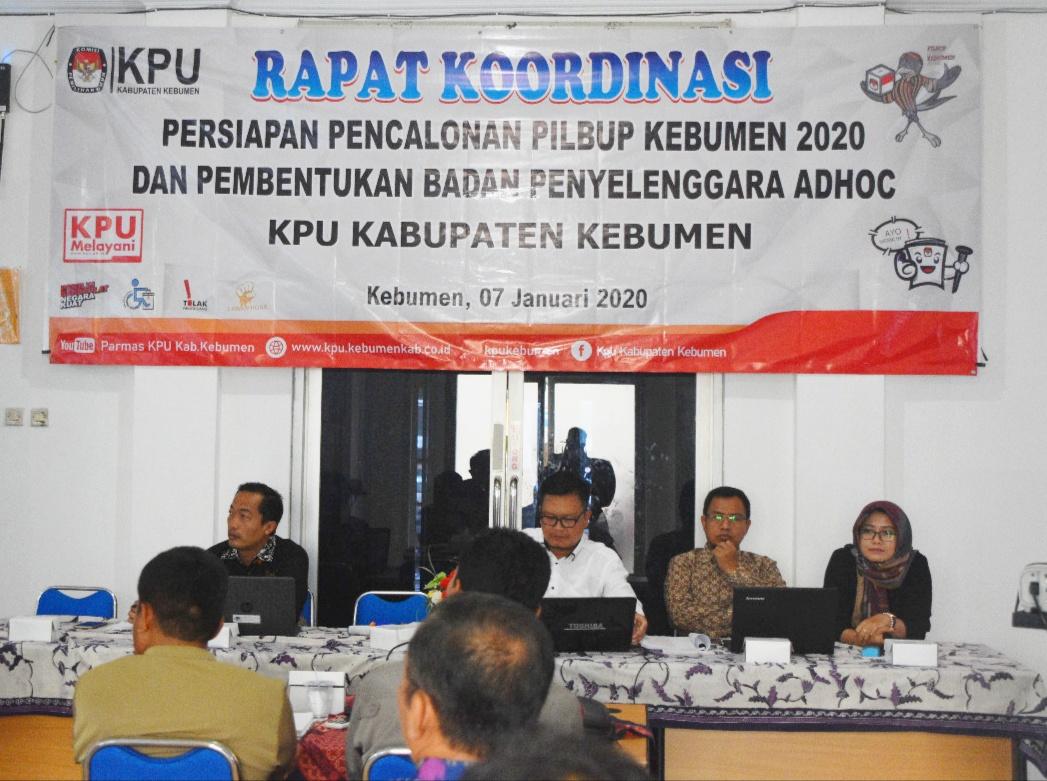 Persiapkan Pemenuhan Syarat Pencalonan dan Pembentukan Badan Ad Hoc, KPU Koordinasi dengan Instansi Terkait